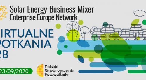 Zapraszamy na Solar Energy Business Mixer