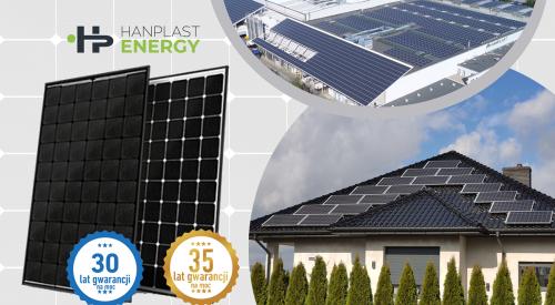 Moduły fotowoltaiczne nowej generacji SW Premium SLIM (HJT) od Hanplast Energy™