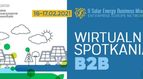 Zapraszamy na II edycję Solar Energy Business Mixer
